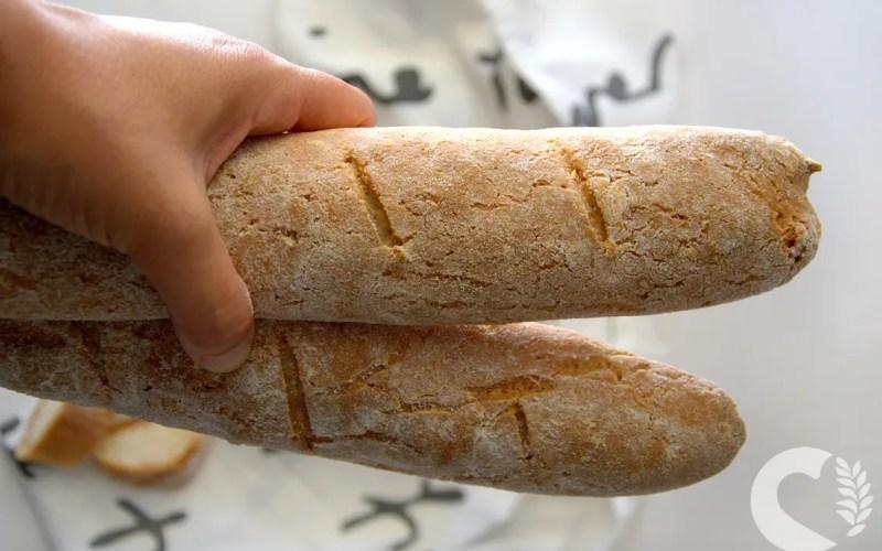 Baguette senza glutine alla ricotta