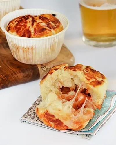 Muffin pizza o Pizza muffin senza glutine e super veloci