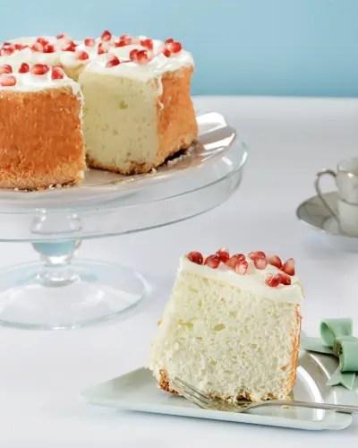 Angel Cake la torta con soli albumi: senza glutine, senza lievito e senza lattosio