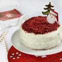 Red Velvet cake senza glutine, golosa e festosa!