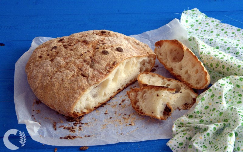 Pane senza glutine, senza impasto