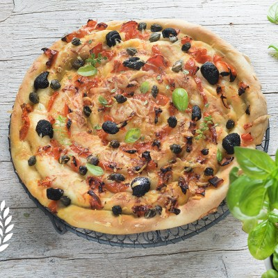 Pizza spirale senza glutine e super sfiziosa