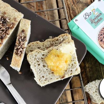 Pane senza glutine con farina Bio alla Canapa Madame Loulou