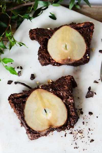Plumcake alle pere e cioccolato senza glutine e senza lattosio