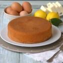 Torta madeira naturalmente senza glutine