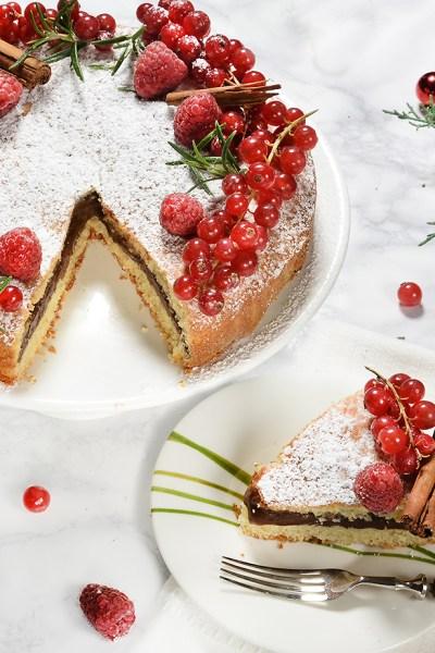 Torta versata: la torta senza glutine ripiena