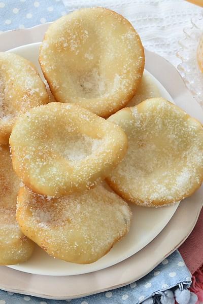 Frittelle Lunapark senza glutine senza lievitazione