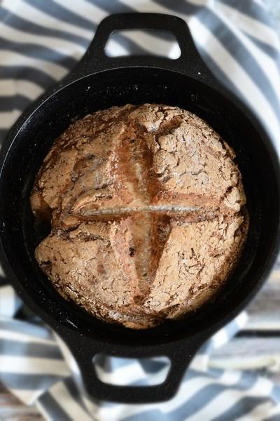 Soda Bread senza glutine e senza lievito in 1 ora.