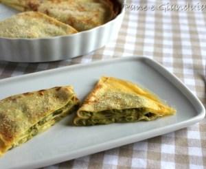 Crespelle con asparagi