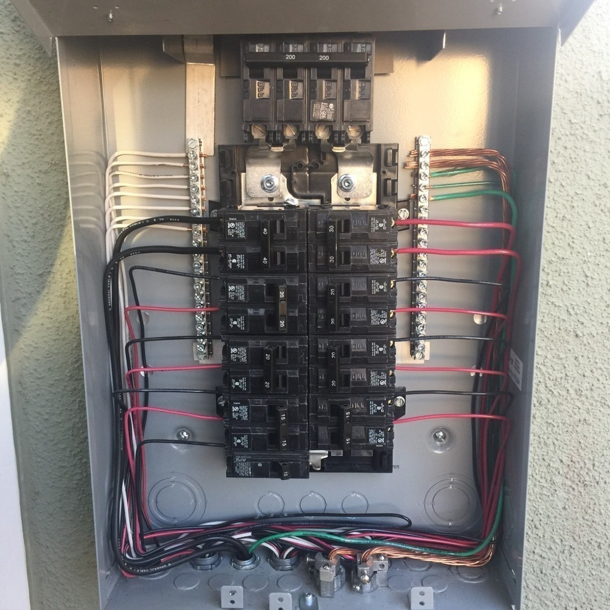 Electrical Wiring And Circuit Breakers