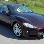 Maserati GT Burgundy Car