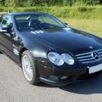 Mercedes SL AMG Black Car