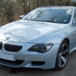 BMW M6 Silver Car