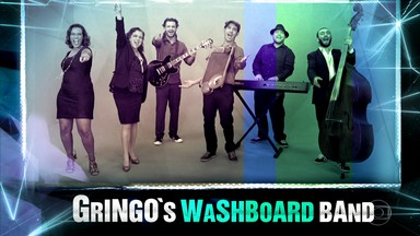 Gringo's washboard band