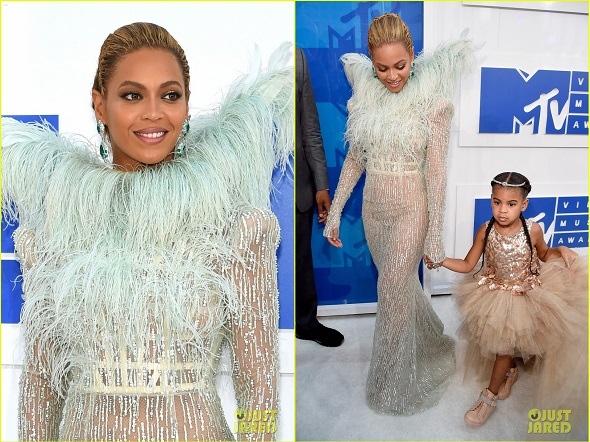 NEW YORK, NY - AUGUST 28: Beyonce attends the 2016 MTV Video Music Awards at Madison Square Garden on August 28, 2016 in New York City. (Photo by Jamie McCarthy/Getty Images)
