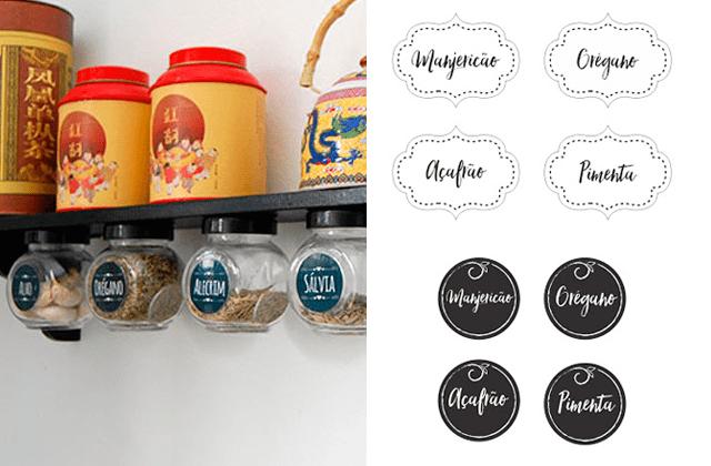 Materiais Gratuitos Para Imprimir Organizar E Decorar Sua Cozinha