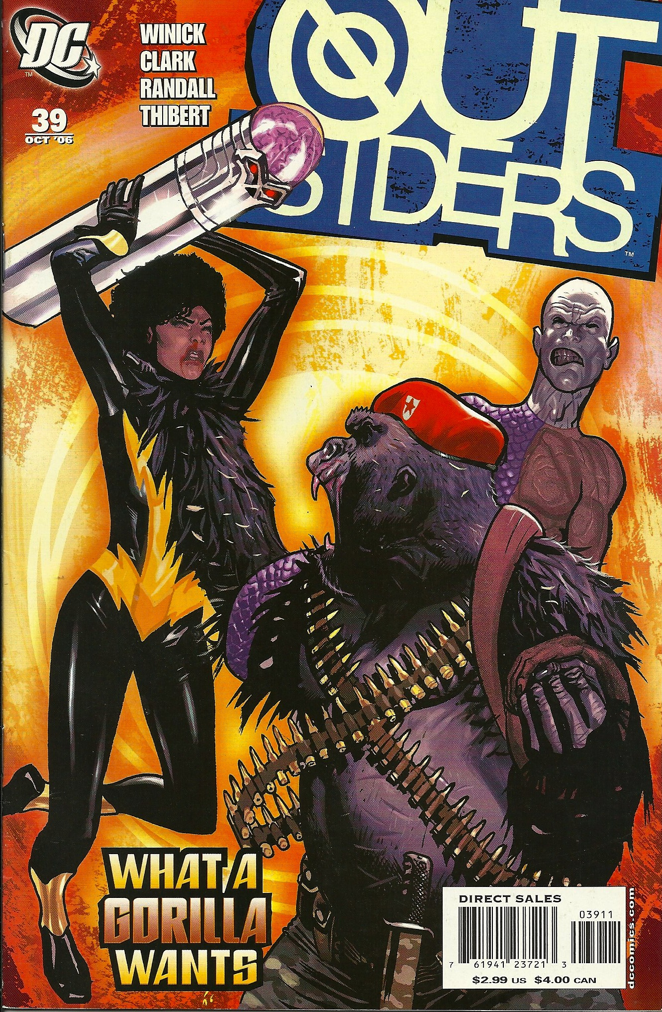 One Of My Favorite Dc Comic Book Covers Outsiders 39