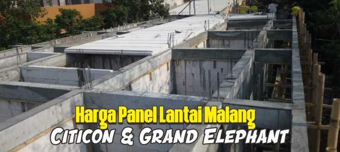 Harga Panel Lantai Malang. Merk Citicon Dan Grand Elephant