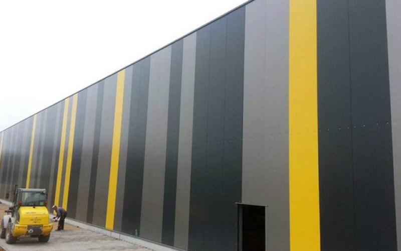 panel sandwich arquitectonico liso