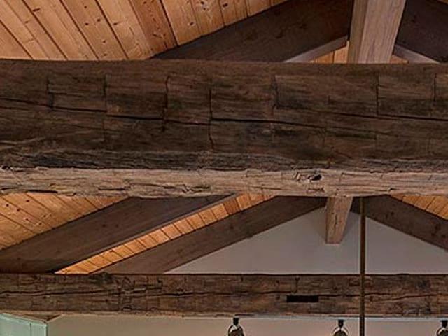 Panel de madera friso abeto aglomerado hidrofugo