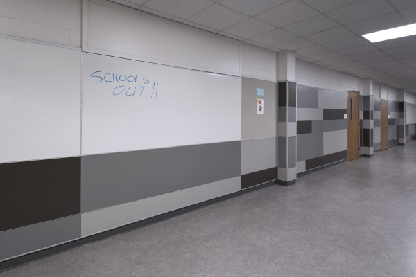Coppell High School Dry Erase Wall