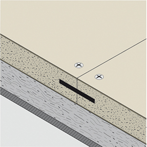 a-60 floating floor standard joint