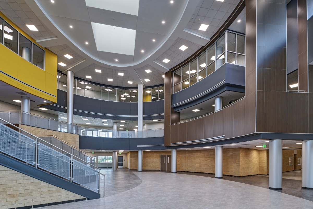 Jordan High School Atrium