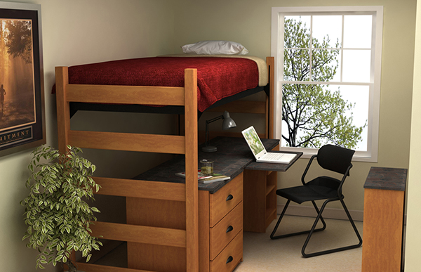Residential Room 2 - Residence Hall Furniture