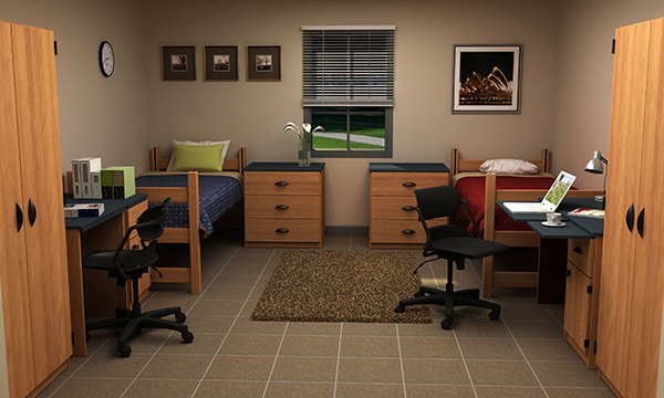 Residential Room 14 - Residence Hall Furniture
