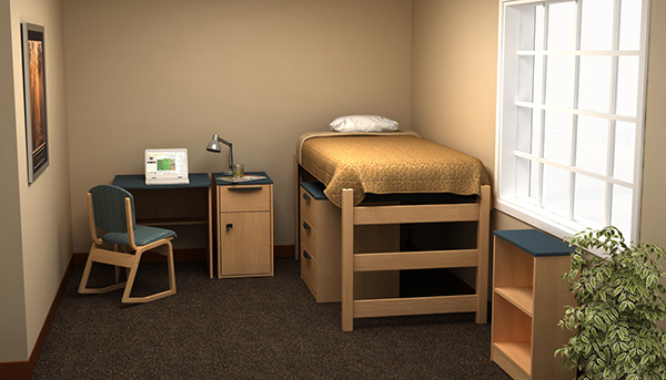 Residential Room 8 - Residence Hall Furniture