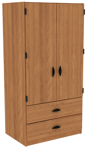 W-3672_OutsideHinge_2Drawer_AmberCherry2_LG