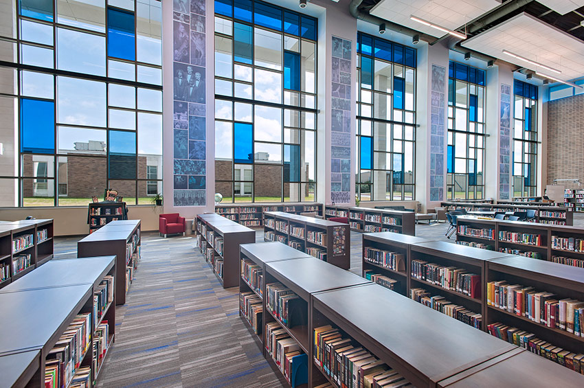 Temple High School Library