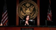 Chief Justice Francine Ashland Brewer following her first seating as Chief Justice. Nominated in the wake of the retirement of then-Chief Justice Sean Wheeler by President Mellark as the first-ever Supreme Court appointment, Ashland Brewer became the first female Chief Justice of Panem's Supreme Court, ascending from her position of Associate Justice.