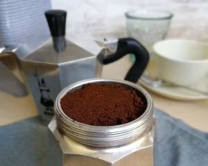 Moka Bialetti nivel café 2