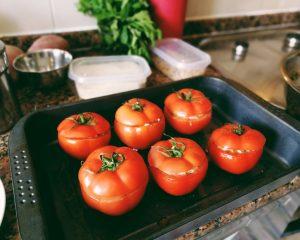Pomodori col riso - Tomates con arroz 13