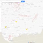 mapa locales sur españa