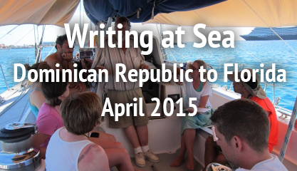 Writing at Sea | Dominican Republic to Florida