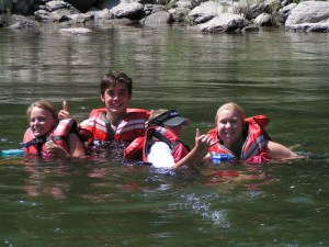 Floating the warm and scenic Clarck Fork