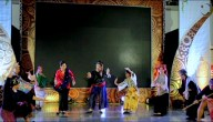 ADC dancers wear traditional costumes in dance demonstration