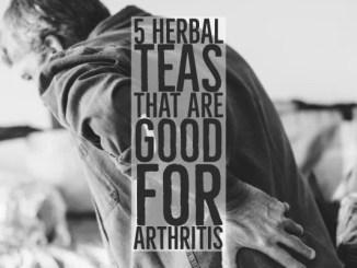Herbal Teas Are Good For Arthritis