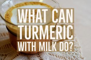 Turmeric With Milk
