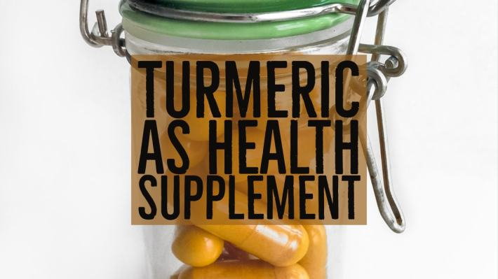 Turmeric Health Supplement