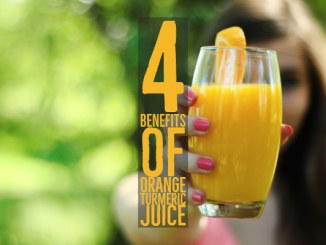 Benefits from Orange Turmeric Juice