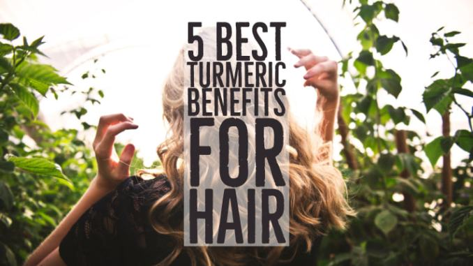 The Benefits of Turmeric On Your Hair