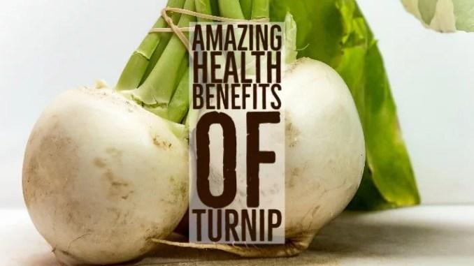 Amazing Health Benefits Turnip