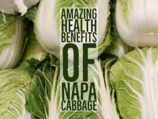 Amazing Health Benefits Napa Cabbage
