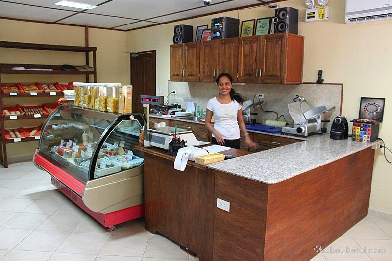 The deli at tip top hotel/resort, panglao island bohol, philippines