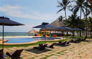 Bohol south palms resort pool