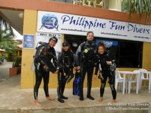 Philippine fun divers divers alona beach panglao bohol holger horn rena sugiyama 1024x768