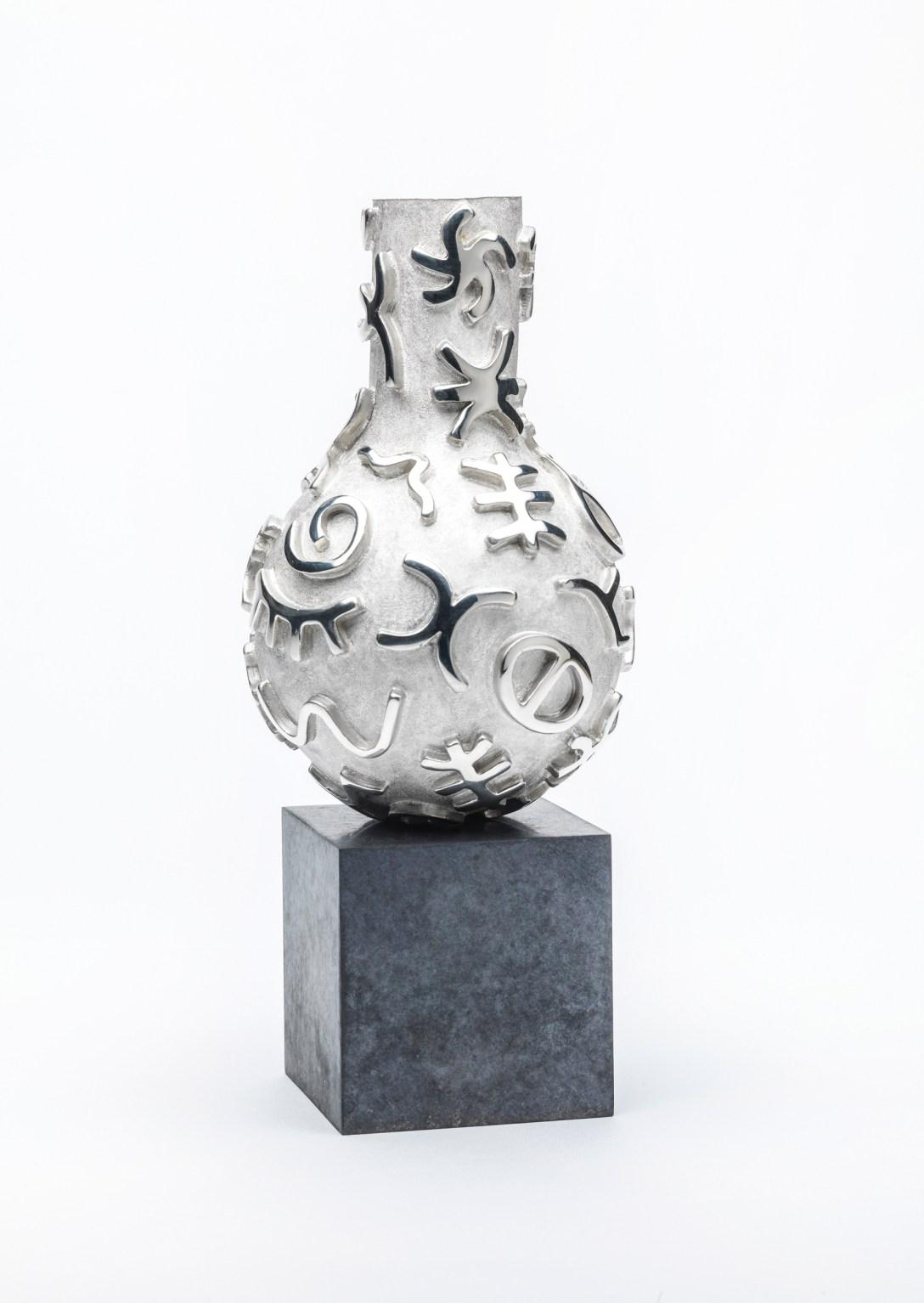 'Silver' 'Casting' of Jon Buck's 'Sculpture' Argentum Vivum